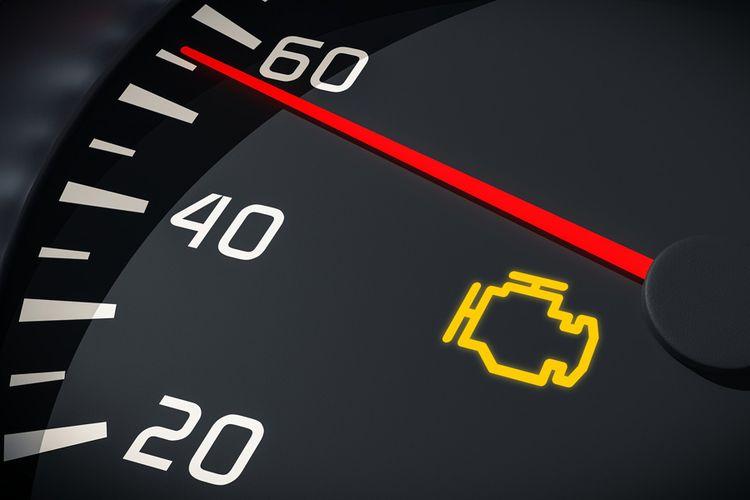 Jangan Keburu Panik, Ini Makna Lampu Indikator Check Engine Menyala Kuning